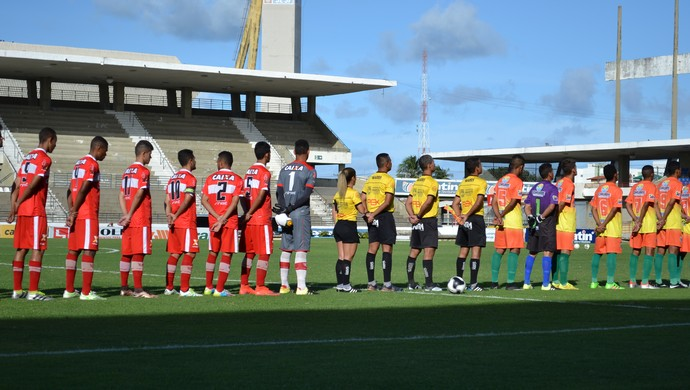 Coruripe x CRB - Alagoano Sub-20 (Foto: Jota Rufino/GloboEsporte.com)