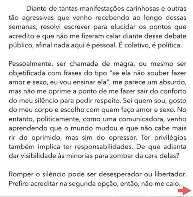 Fernanda Lima (Foto: Reprodução / Instagram)