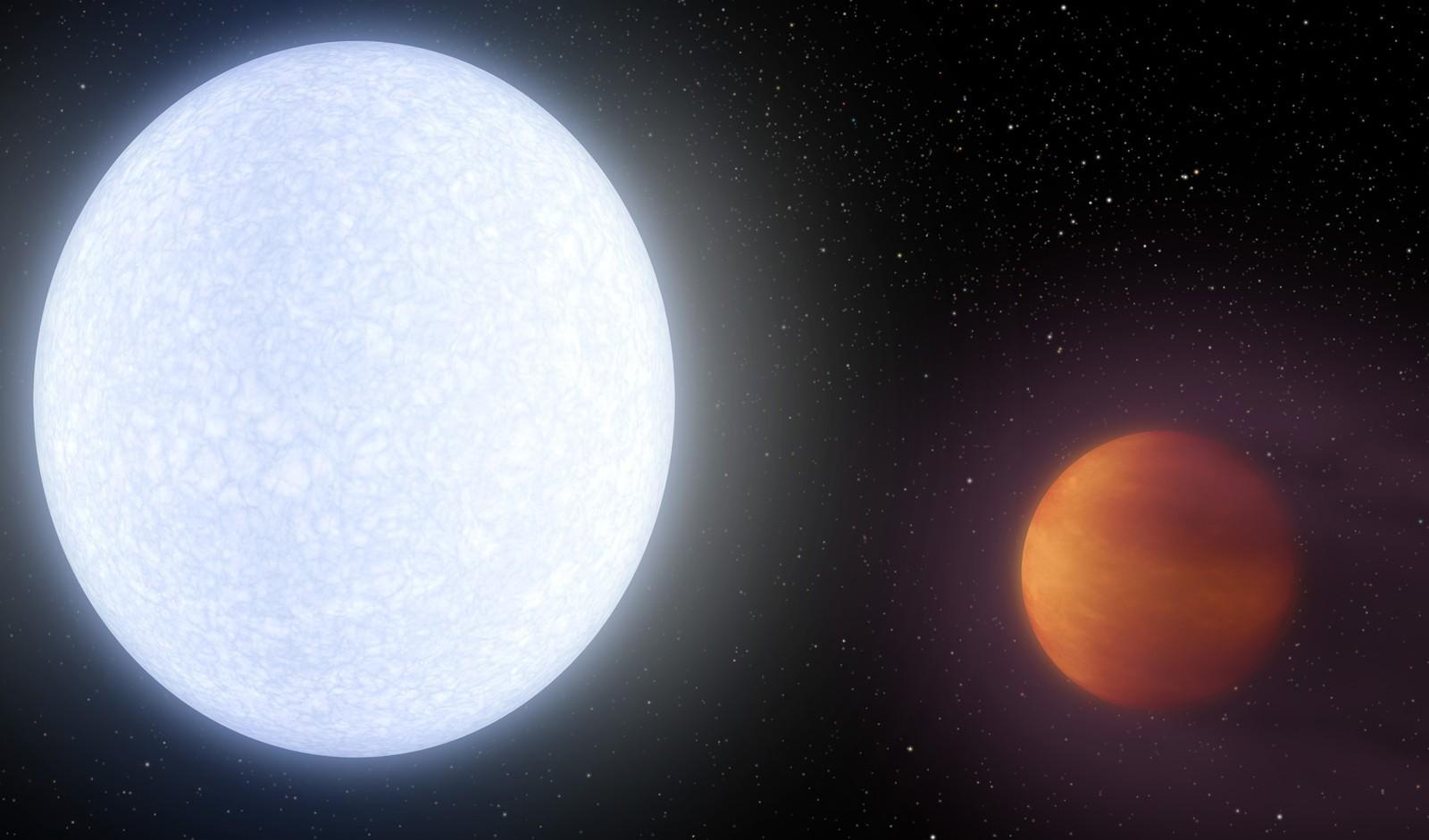 Cientistas descobrem planeta com as maiores temperaturas já registradas