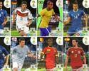 Lucas, El Shaarawy, Nasri, Arbeloa... As gafes dos cards da Copa do Mundo