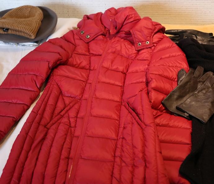 As roupas foram levadas em nove malas (Foto: Thiago Fontolan / Gshow)