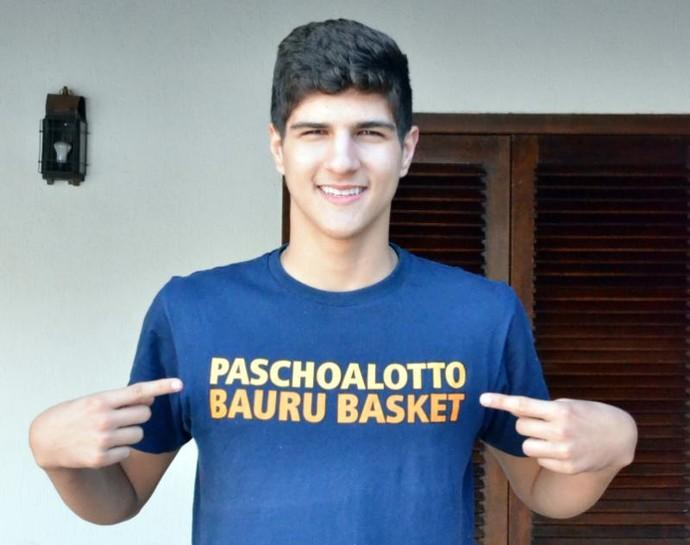 Gabriel Galvanini, basquete, bauru, espanha, Fuenlabrada (Foto: Henrique Costa/Bauru Basket)
