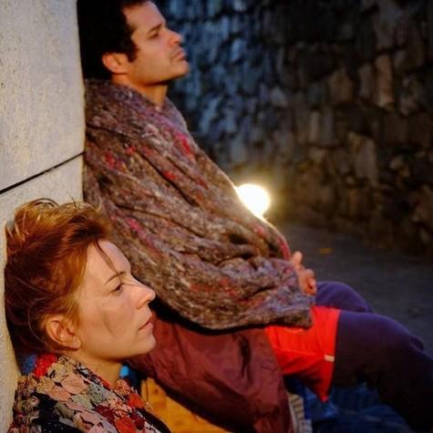 Marta Paret e Rogério Barros (Foto: Guga Melgar)