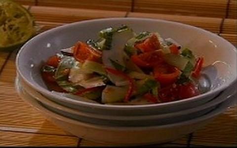 Salada refrescante do Jamie Oliver
