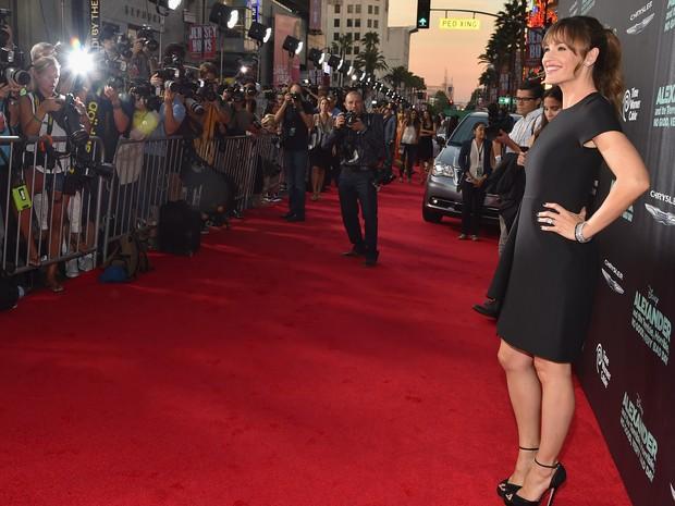 Jennifer Garner em première em Los Angeles, nos Estados Unidos (Foto: Alberto E. Rodriguez/ Getty Images/ AFP)