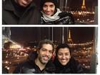 Regina Casé aproveita fim de ano em Paris