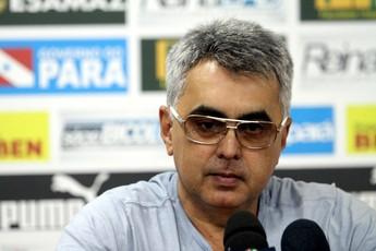 Sérgio Papellin - gerente executivo do Paysandu (Foto: Everaldo Nascimento/O Liberal)