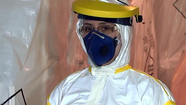 Ebola (Foto: Reprodução/ RPC TV)