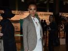 Sheron Menezzes é eleita a mais estilosa na abertura do Fashion Rio