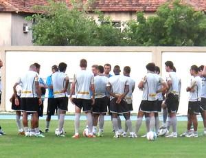 treino Botafogo Engenhão (Foto: Fred Huber)
