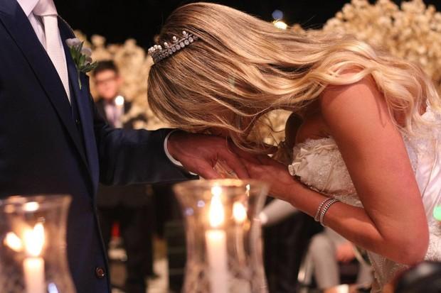 Casamento de Marcela Queiroz, do BBB 4, em castelo de luxo de Curitiba (Foto: Mehjji Moana / Divulgação Marcela Queiroz)