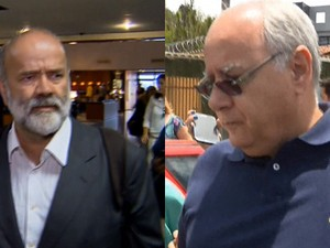 BDBR - João Vaccari Neto e Renato Duque (Foto: Rede Globo)