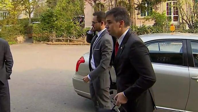 Gustavo Juchem, vice jurídico do Inter  (Foto: Reprodução / RBS TV)