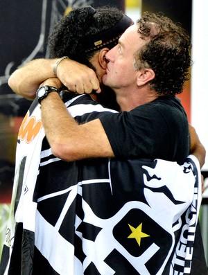 Cuca e Ronaldinho Libertadores festa Atlético-MG (Foto: Reuters)