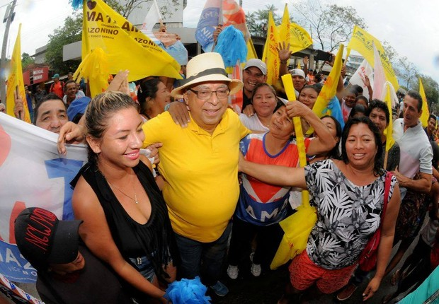 Amazonino Mendes, novo governador do Amazonas (Foto: Reprodução Facebook/Amazonino Mendes)
