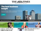 Jornal britânico 'Times' deixa de publicar notícias em tempo real no site