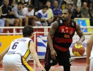 David Jackson basquete Flamengo (Foto: Adenir Britto)