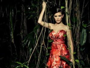 Vitória Strada concorre ao Miss Mundo Brasil pela Ilha da Pintada, no RS (Foto: Black Sheep Studio/Miss Mundo Brasil)