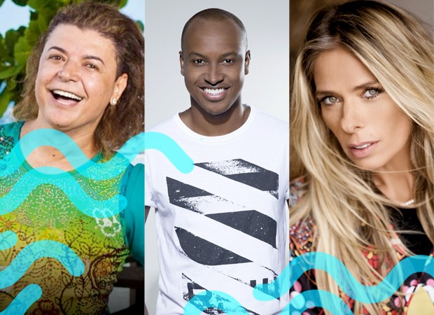 Thiaguinho, Adriane Galisteu e David Brazil vo comandar o TVZ Vero (Foto: Divulgao/Multishow)