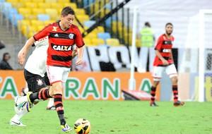 Flamengo x corinthians - Adryan (Foto: Alexandre Vidal - Fla Imagem)