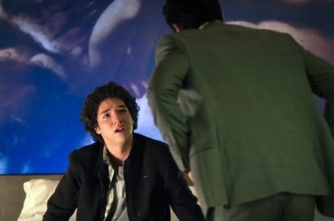 Bruno (João Vitor Silva) e Alex (Rodrigo Lombardi) (Foto: Fabiano Battaglin / Gshow)