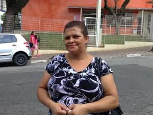 Moradora de São Bernardo diz que teve dificuldades em conseguir remédio (Foto: Márcio Pinho/G1)