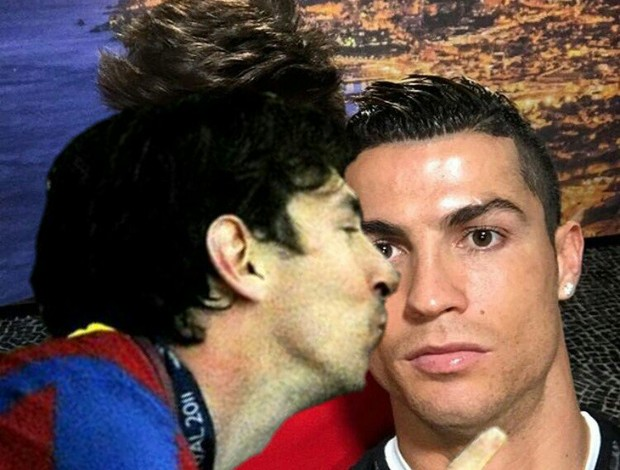Cristiano Ronaldo meme Messi