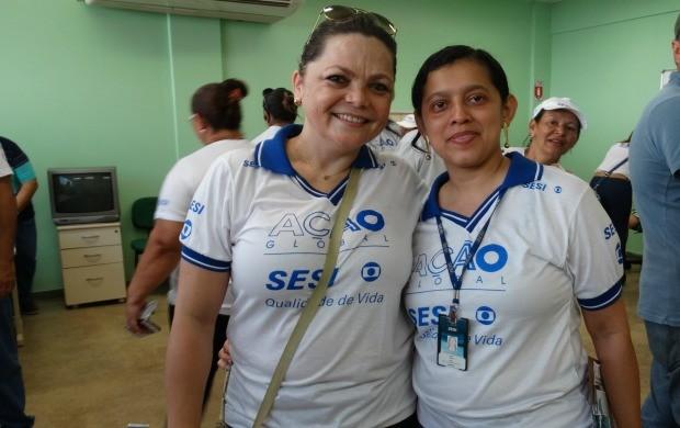 Expectativa alcançada revela coordenadora Simônica Sidrim (à esqueda) (Foto: Onofre Martins/Rede Amazônica)