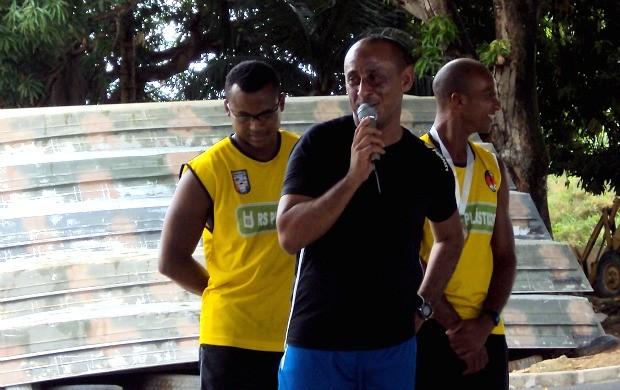 Edmar Campos da Encarnação, árbitro do AM (Foto: Divulgação/FAF)