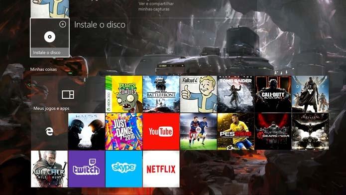 Xbox One: como instalar e jogar jogos de Xbox 360 no console (Foto: Reprodução/Murilo Molina)