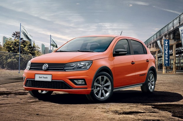 Novo Volkswagen Gol Track (Foto: Divulgação)