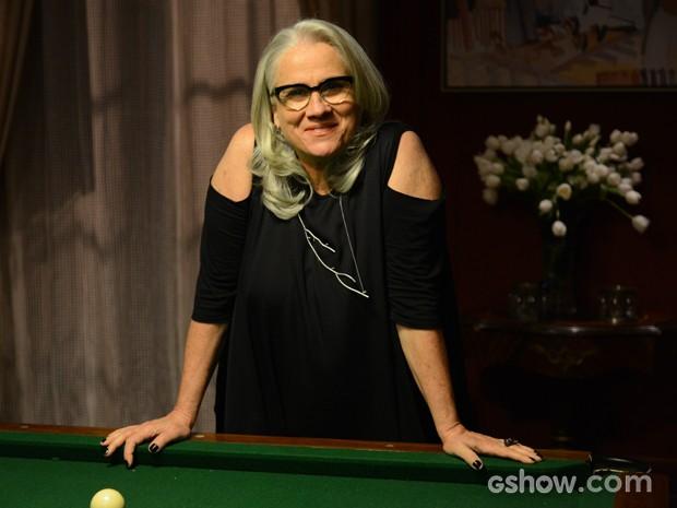 Vera Holtz será Vic Garcez (Foto: Raphael Dias/TV Globo)