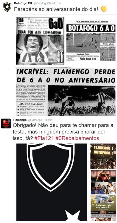Bota provoca Fla com homenagem no dia do aniversário 1bbd5e25ec527
