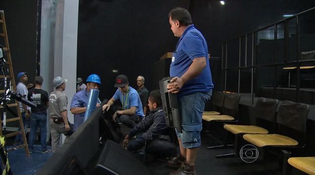 Confira os preparativos para o debate dos presidenciáveis na Globo