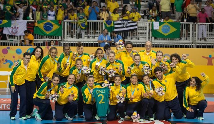 Handebol; Jogos Pan-Americanos (Foto: Jonne Roriz/Exemplus/COB)
