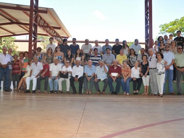 Almoço reúne descendentes do fundador de Campo Grande (Foto: Michel Lorãn/G1 MS)