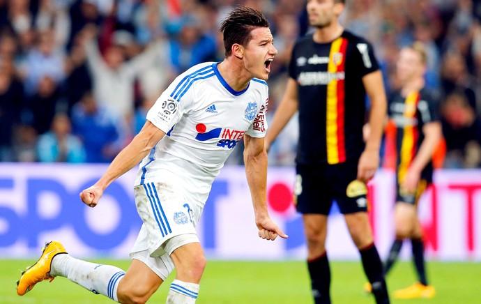 Olympique de Marseille x Lens - Thauvin (Foto: Reuters)