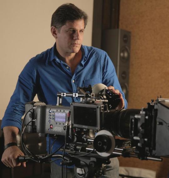 André di Mauro está dirigindo um documentário sobre o cineasta Humberto Mauro (Foto: Divulgação)