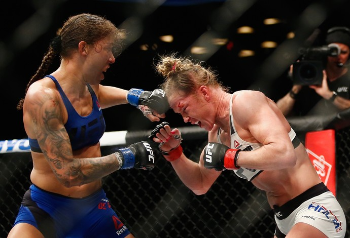 Germaine de Randamie Holly Holm UFC 208 (Foto: Getty Images)