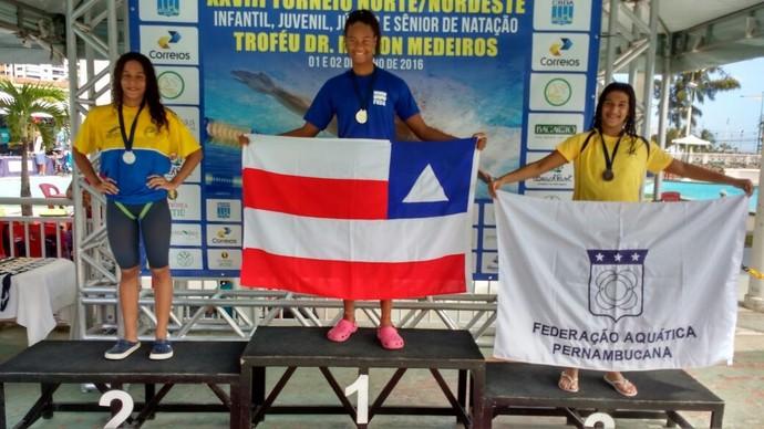 Torneio Norte/Nordeste de Natação (Foto: Paulo Victor Costa)