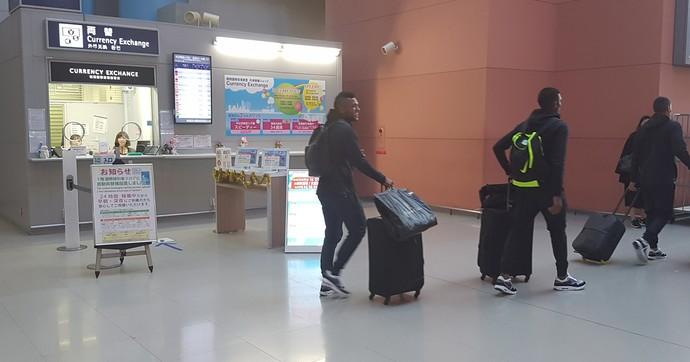 Borja Atlético Nacional Mundial de Clubes desembarque Osaka (Foto: Jorge Natan)