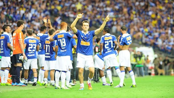 Dagoberto Cruzeiro e Grêmio (Foto: Marcos Ribolli)