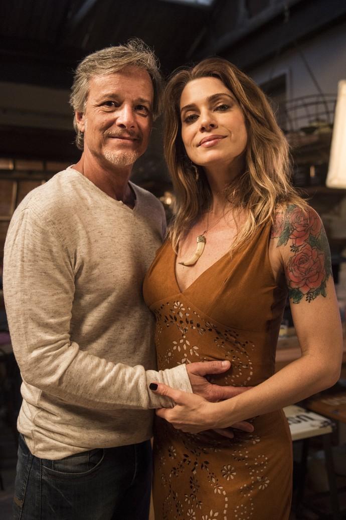 Marcello Novaes e Letícia Spiller interpretam o casal (Foto: Mauricio Fidalgo/Globo)