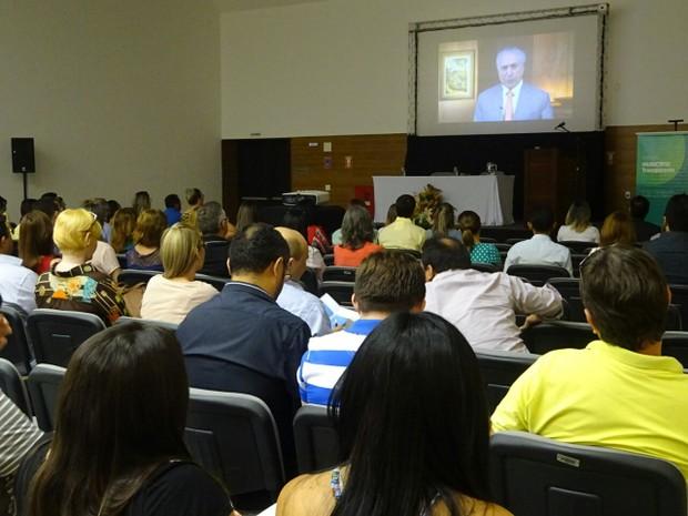 Capacitação abordou o uso correto dos recursos públicos federais (Foto: Divulgação/Unacon)