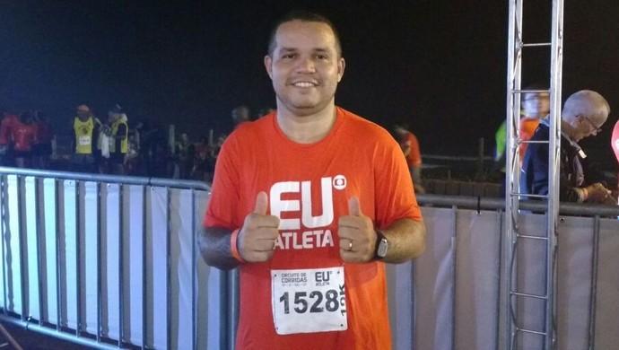 EuAtleta - Wellington corrida noturna (Foto: Renata Domingues)