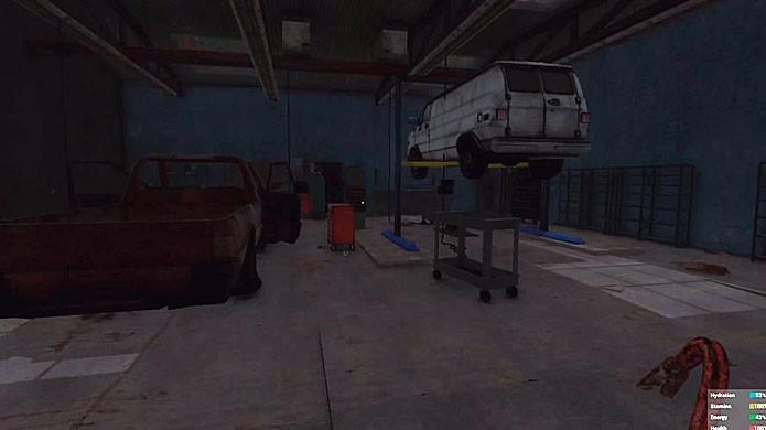 Oficinas abandonadas são ótimos lugares para encontrar Scrap Metal e outros materiais (Foto: Reprodução/Youtube)