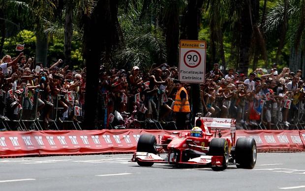 Felipe Massa evento rio de janeiro (Foto: RUDY TRINDADE/FRAME/AGÊNCIA ESTADO)