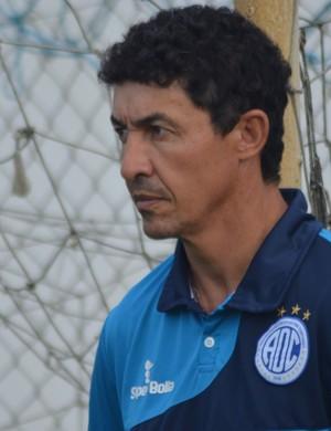 Técnico Betinho, Confiança (Foto: Felipe Martins)