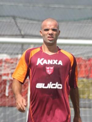 Marcus Vinicius, zagueiro do CRB (Foto: Caio Lorena / GloboEsporte.com)