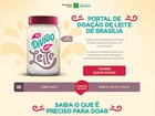 Secretaria de Saúde cria portal para doação de leite materno no DF